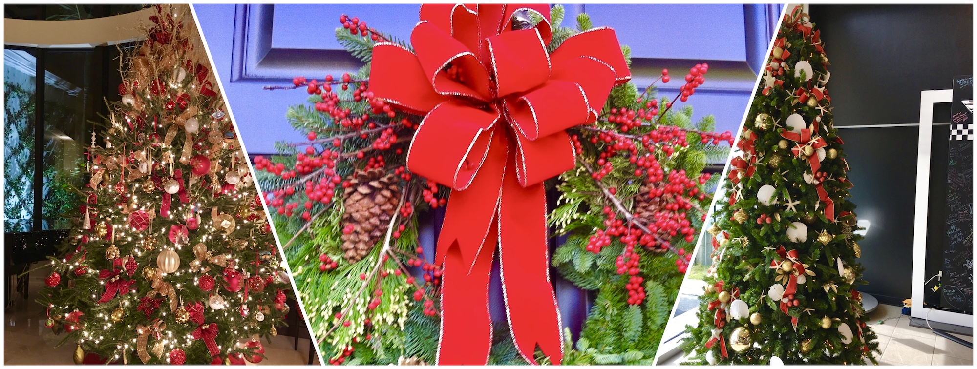 Christmas Floral Arrangement and Tree Decorating Service - West Palm Beach, FL Velene's Floral