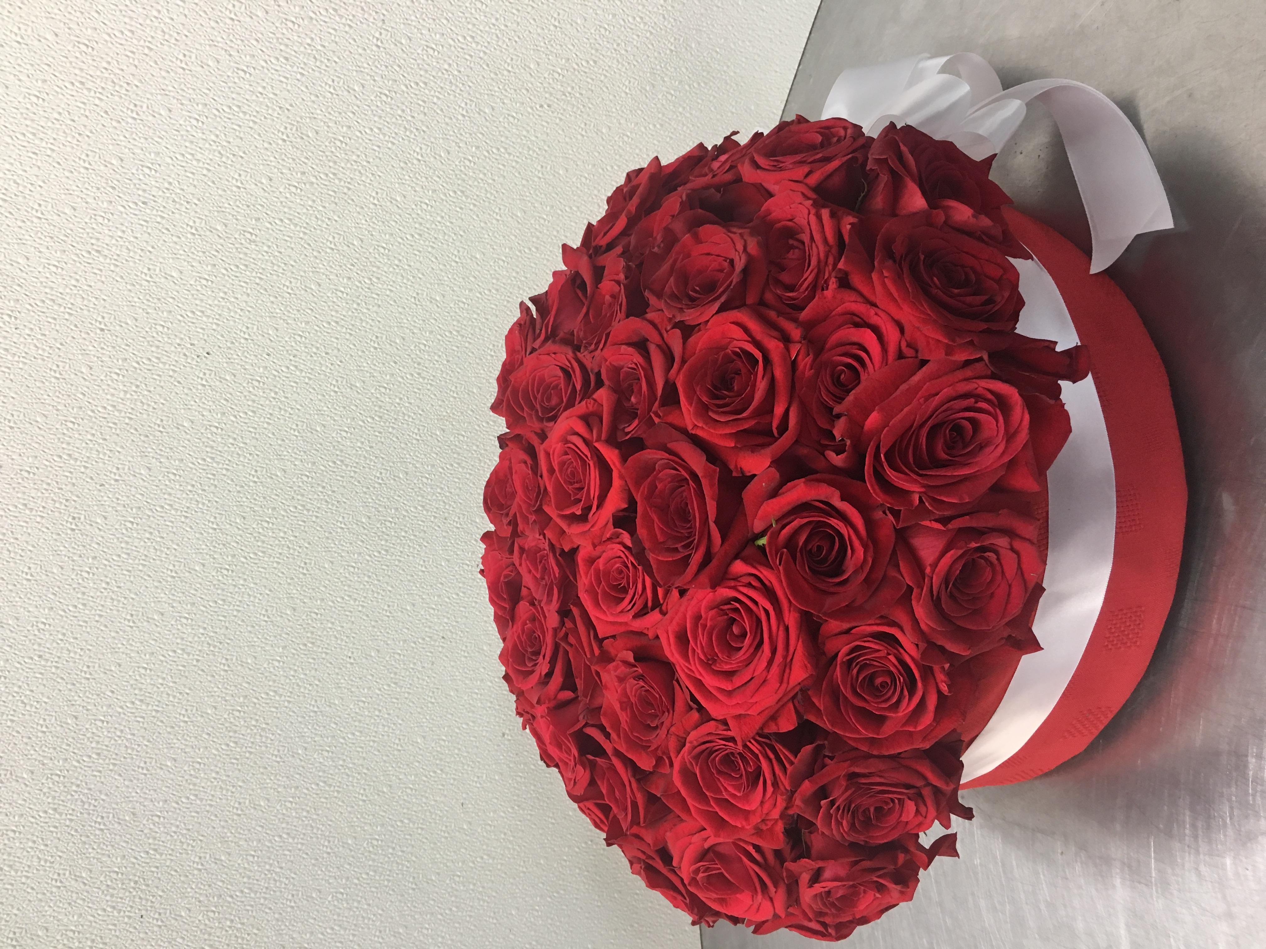 Roses in Box Velene's Floral