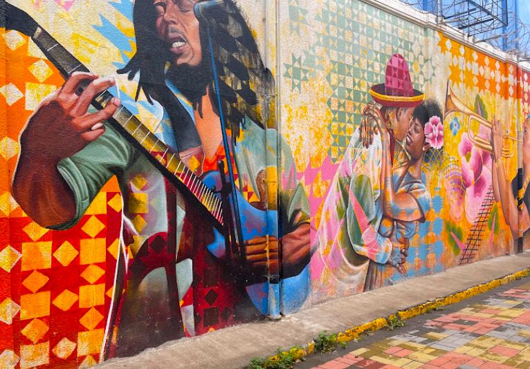 Downtown Temple Lane Art Walk