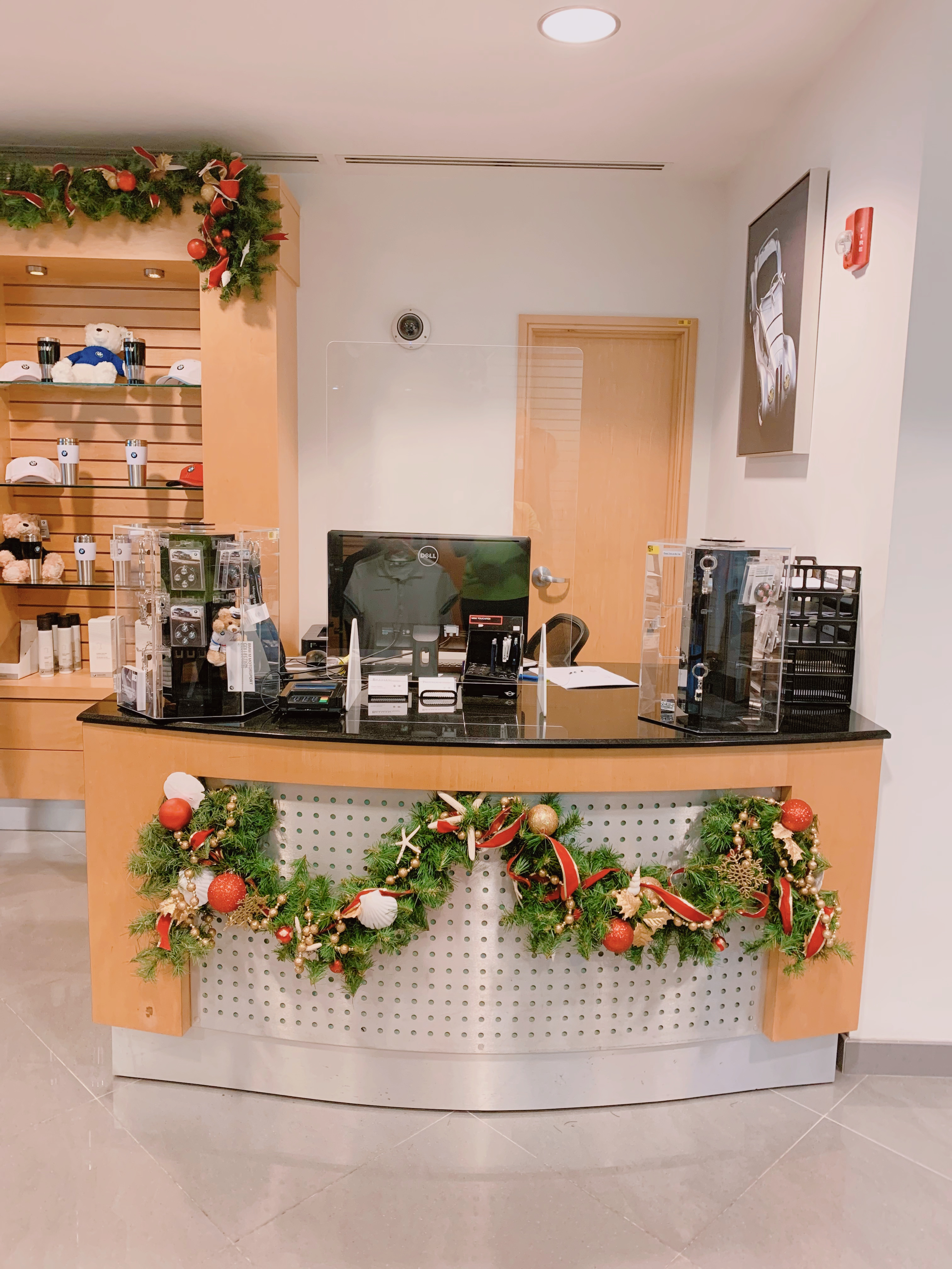 Front Desk Christmas Garlands Velene's Floral