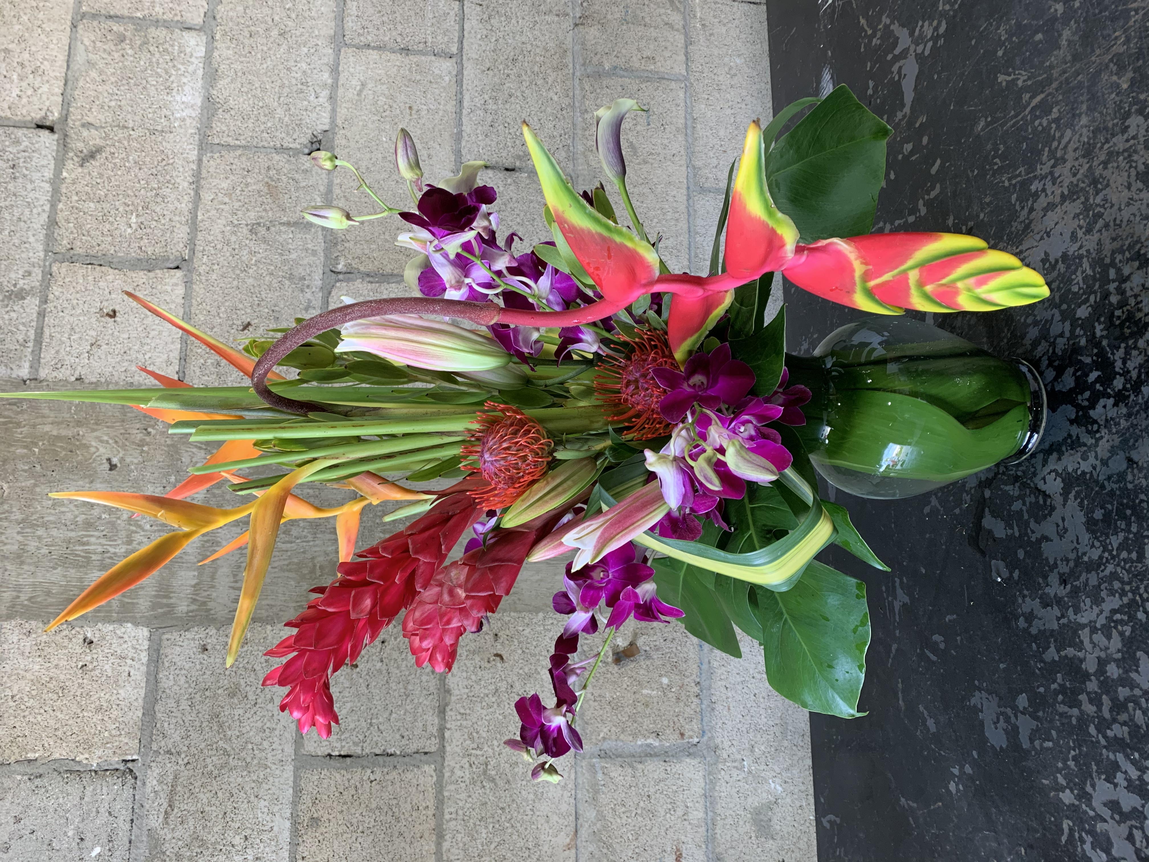 Bold and Bright Tropical Bonanza Velene's Floral