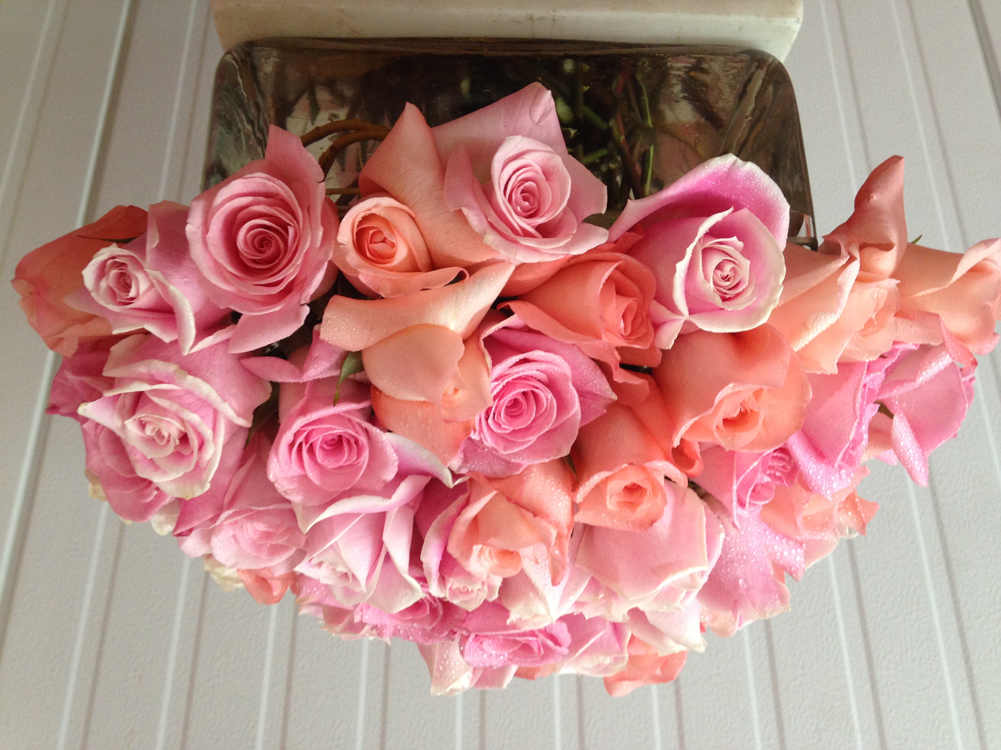 A Banquet of Pink Roses Velene's Floral