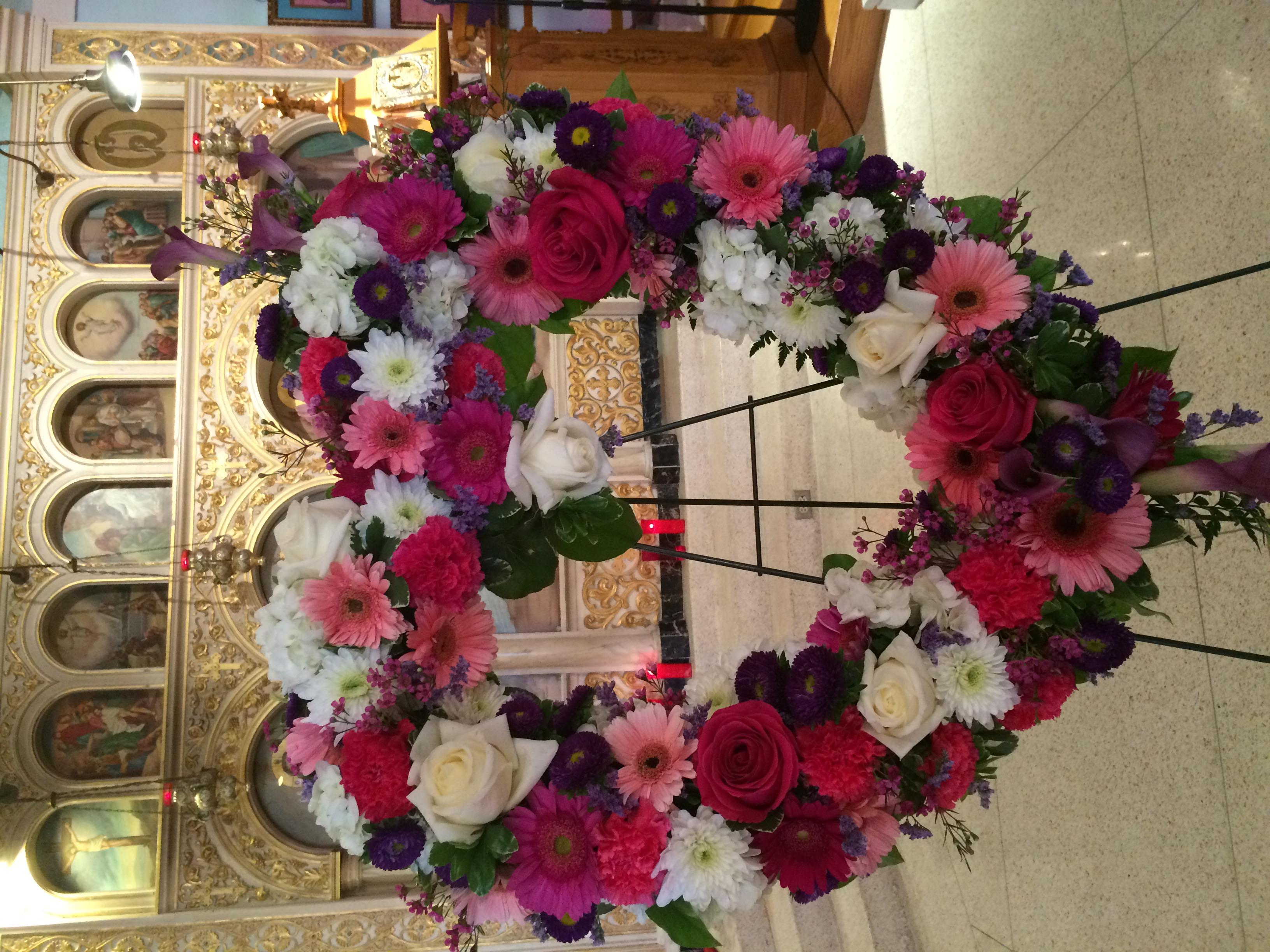 Beautiful and Spiritual Open Heart Velene's Floral