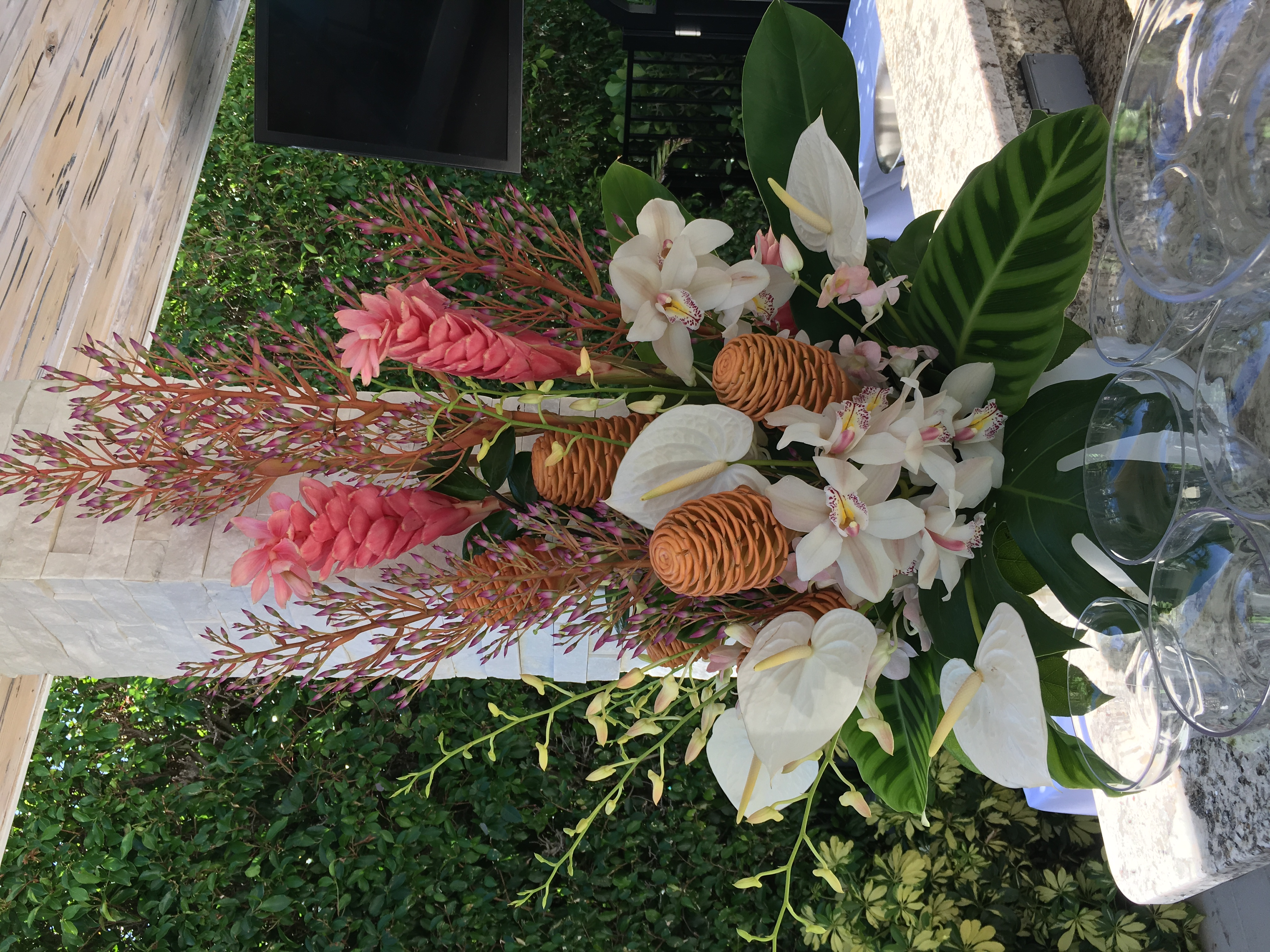 Pinecones and Gingers Velene's Floral